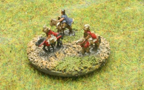 6mm Warmaster Ancients Macedonian army: Generals
