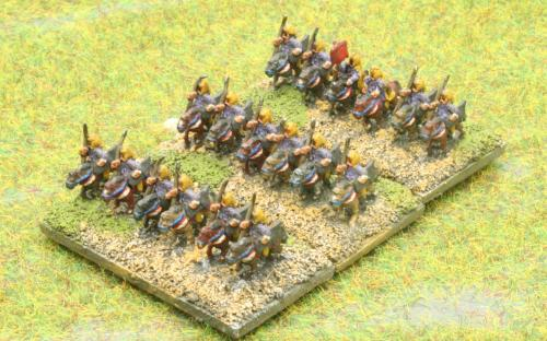 6mm Warmaster Ancients Early Persian army: Heavy cavalry
