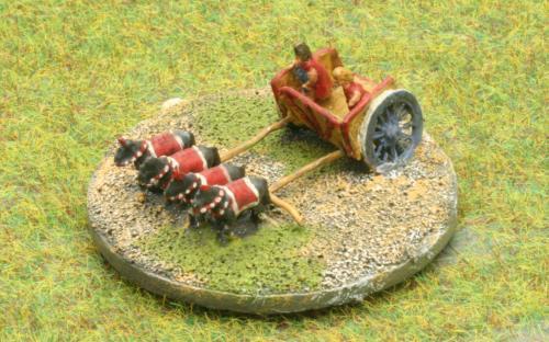 6mm Warmaster Ancients Early Persian army: Xerxes