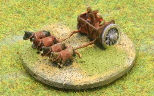 6mm Warmaster Ancients Late Persian army: General