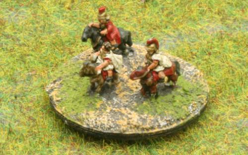 6mm Warmaster Ancients Greek army: Command