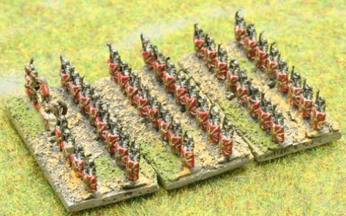 6mm Warmaster Ancients Imperian Roman army: Legionaries