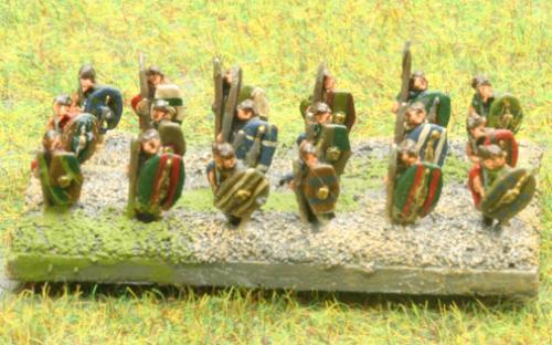 6mm Warmaster Ancients Carthaginian army: Gallic Warband