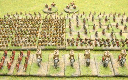6mm Warmaster Ancients Carthaginian army: Full army