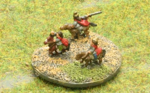 6mm Warmaster Ancients German army: Chieftan