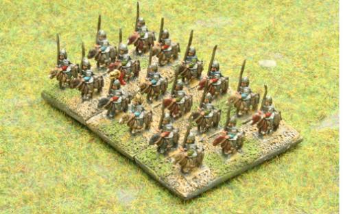 6mm Warmaster Ancients Dacian army: Sarmatian cavalry