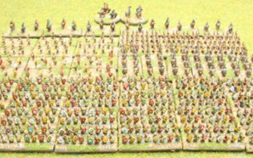 6mm Warmaster Ancients Dacian army: Full army