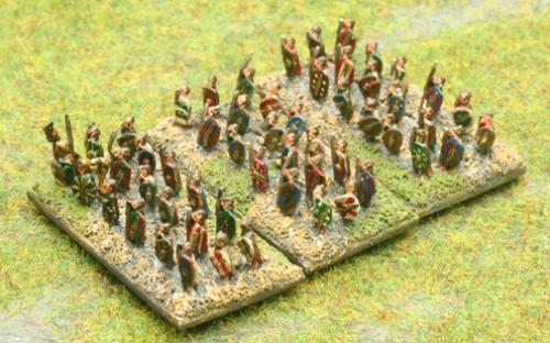 Warnaster Ancients British 6mm Warband