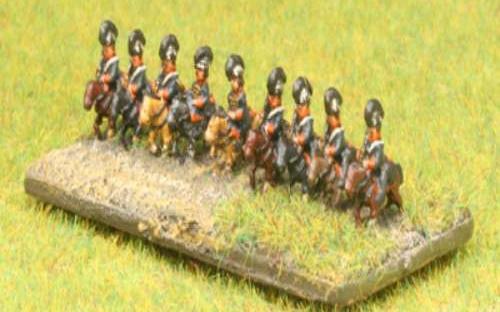 6mm Napoleonic British Light Dragoons