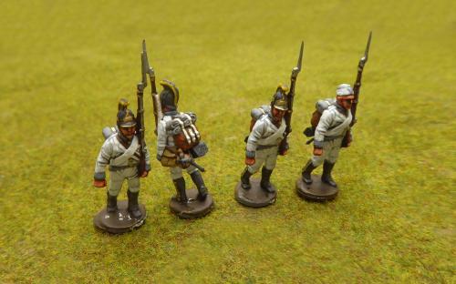 28mm Napoleonic Austrian IR 30 (Perry miniatures)