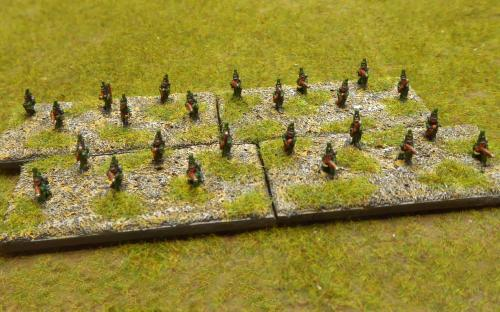 British rifle skirmishers