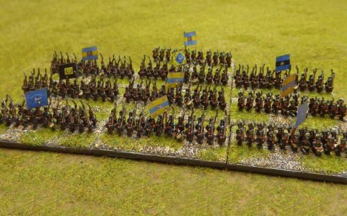 Brunswick line infantry