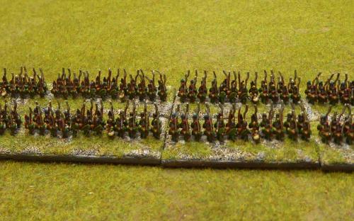 Nassau infantry