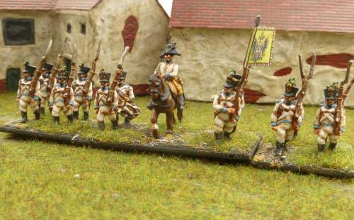 Austrian line infantry regiment Arch Duke Charles