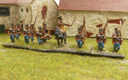Austrian Grenzer infantry