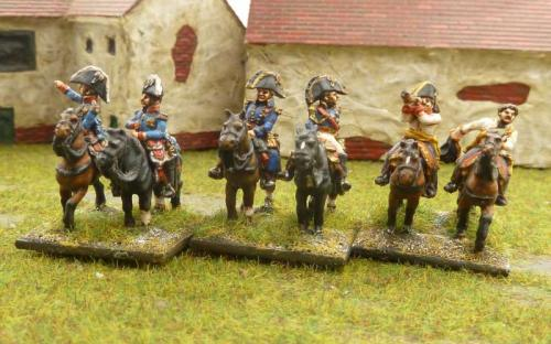 French, Bavarian and Austrian Generals