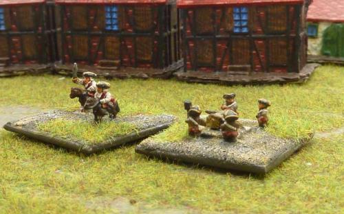 Austrian Command and Mortars