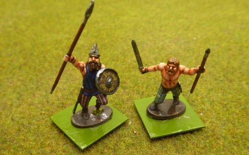 28mm Ancient Dacian Nobles (Warlord Games)