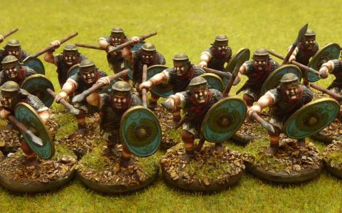 28mm Ancient Imperial Roman Auxilia (Warlord Games)
