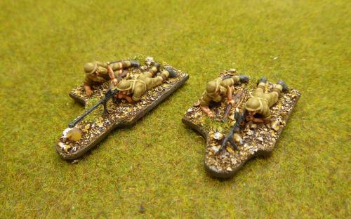 28mm WW2 British Desert Rats (Perry miniatures plastics)