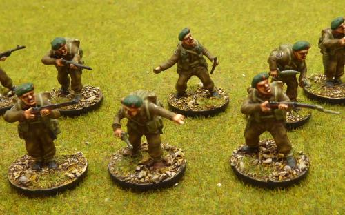 28mm WW2 British Commandos (Warlord Games)