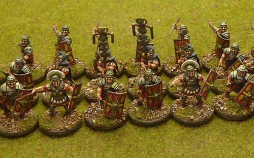 28mm Ancient Imperial Roman Legionaries (Warlord Games)