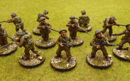 28mm WW2 British Army (Warlord Games) 50 men