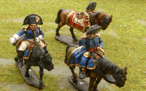 Perry miniatures French Napoleonic  Staff officer and adjutants (FN55)