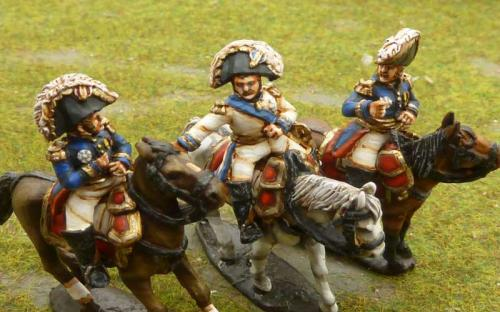 Perry miniatures Napoleonic French Napoleonic Marshals Jerome, Qulot and Marcogn