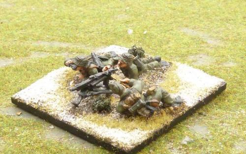 WW2 German infantry (Bolt Action miniatures castings)