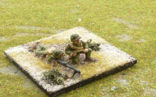 WW2 US infantry (Bolt Action miniatures castings)