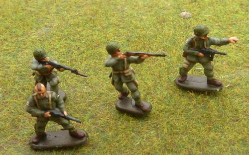 US Paratroopers (some metal, some plastic)