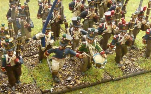 Napoleonic French infantry painted by Reinforcements by Post in Bangladesh