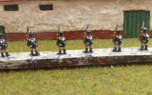 10mm Napoleonic Russian infantry  (Bend Sinister's Redline miniatures)