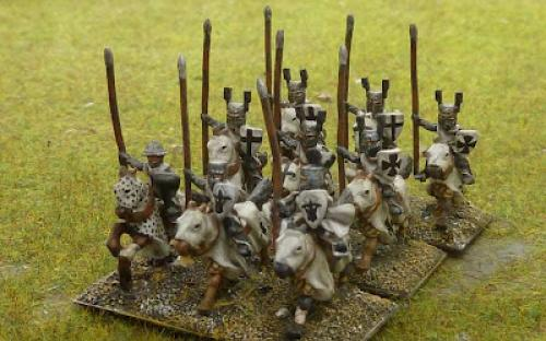 10mm Medieval Teutonic Knights (TB line miniatures - now Pendraken)