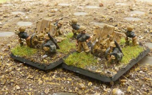 15mm Italian Artillery, ATGs, IGs