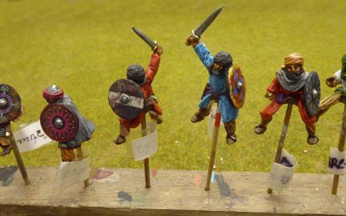 28mm Moors (Gripping Beast miniatures again)