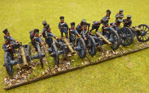 28mm Napoleonic Prussian Horse Artillery (Calpe)