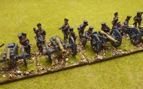 28mm Napoleonic Prussian Foot Artillery (Calpe)