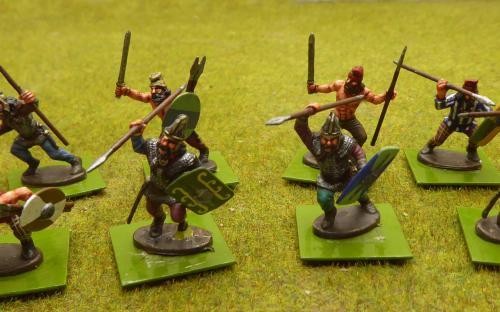28mm Dacian Nobles (Warlord Ganes miniatures)