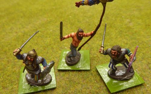 28mm Ancient Dacian Flaxmen (Warlord Games)