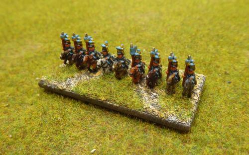 6mm Napoleonic Brunswick Uhlans (Baccus miniatures)