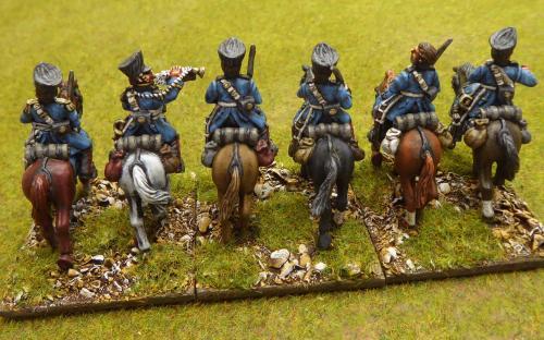 28mm Napoleonic Prussian Brandenberg Dragoons (Calpe miniatures)