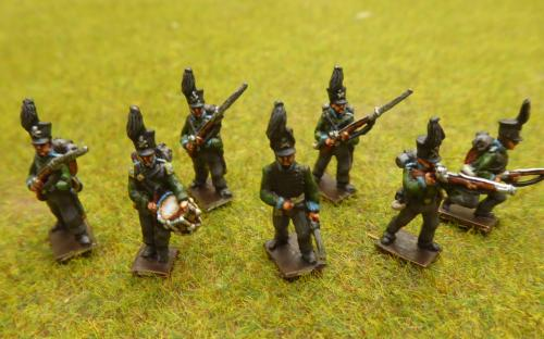 15mm Brunswick infantry