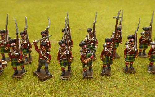 15mm British 42nd Highlanders
