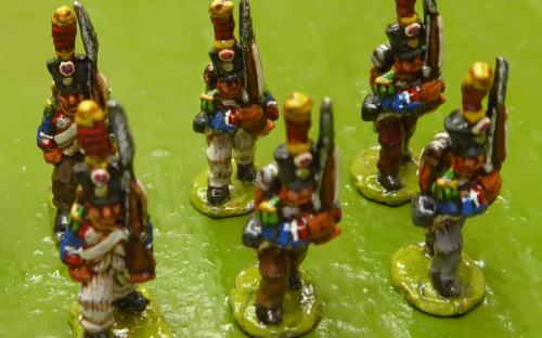 15mm Napoleonic Line infantry battalion 2