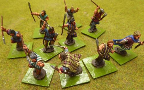 PPC-13 Celts w tunics and helmet (Old Glory)