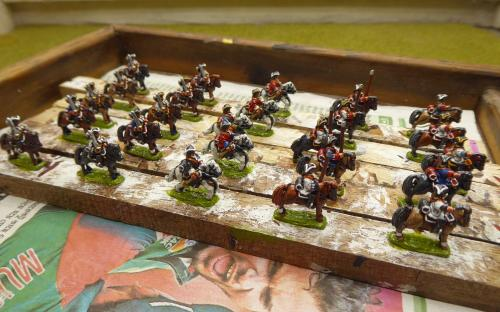10mm War of the Spanish Succession Dutch foot and mounted