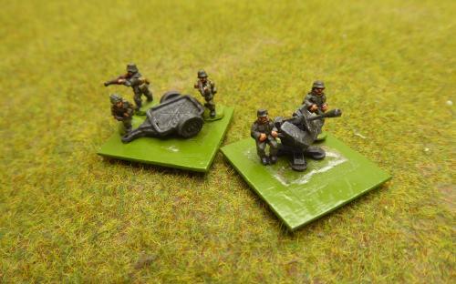 10mm German AA (Pendraken miniatures)