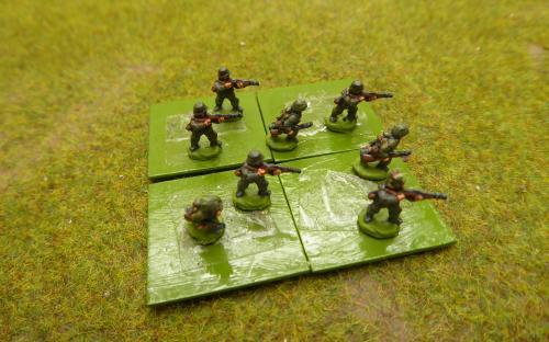 10mm WW2 German infantry AA (Pendraken miniatures)